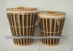 Hotel Bamboo Storage Basket