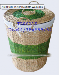 Hotel Water Hyacinth Waste Bin