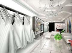 Thiết kế thi công cửa hàng Áo Cưới - Nội Thất Pmax