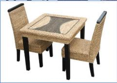 Indoor dining set of 3pcs