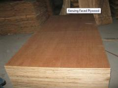 Keruing Faced Plywood
