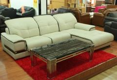 Bộ sofa góc da thật VBSFK01