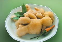 Marinated ginger