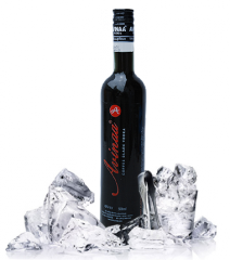 Coffee Black Vodka Wine Bottle