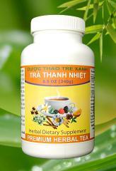 Soothing herbal tea