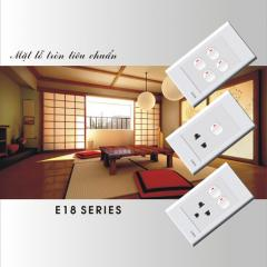 E18 series switches & sockets