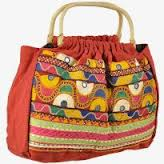 Embroidery Reversible Handmade Bag