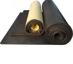 Closed cell rubber foam insulation