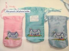 Mini pouch Cell phone holder