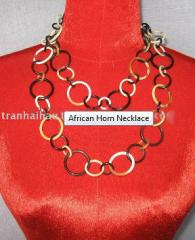African Horn Necklace