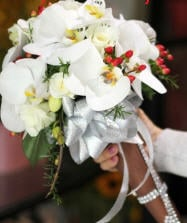 Bouquets for bride