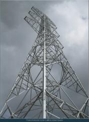 Transmission Line Lattice steel tower