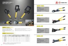 Hydraulic cutter cable tools