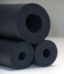 Cooling duct work rubber foam insulation