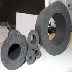 Isolamento para tubos de água quente