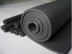 Rubber foam sponge for heating duct work systems