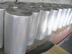 Aluminum foil fiber glass cloth coated rubber foam