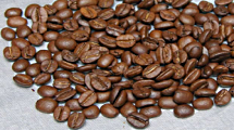 Coffee natural fried