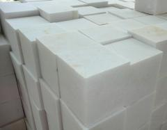 Blocks from a natural stone