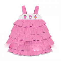 Newborn smocked dress DR 1262