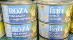 Roza 185gr Tuna Slices In Oil
