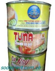 Tin 185gr Tuna Slices In Oil