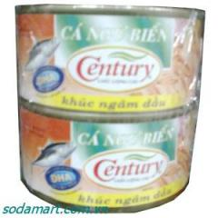 Century 185gr Tuna Slices In Oil