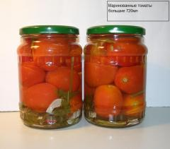 Pickled big tomatoes 720ml