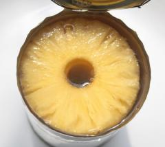 Canned pineapple 3100ml slices