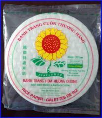 Rice Paper Size 16cm, 22cm, 25cm, 28cm, 31cm