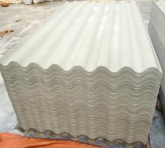 100% feuille de toiture fibrociment sans amiante