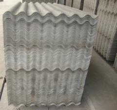 Plaque de couverture en fibrociment