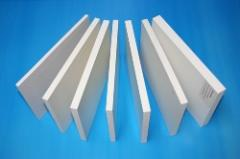 Panels made of polyvinyl chloride