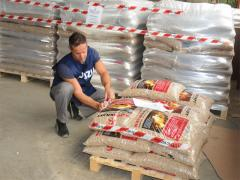 Vietnam rice husk pellets