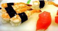 Sushi, products for sushi