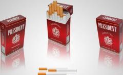 President Cigarettes