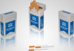 Roman Blue Cigarettes
