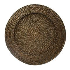 Hot selling Round rattan charger plates