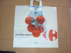 Hot sale LDPE Flexiloop Handle Bag