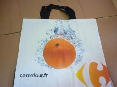 Carefour PP woven Shopping Bag