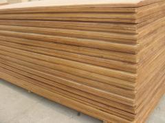 Solid wood, glued