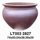 Garden big ceramic flower pots