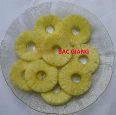 Canned slices pineapples in syrup 3100 ml