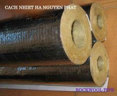 Ống bảo ôn cách nhiệt đường ống hơi sợi thủy tinh
