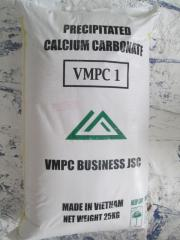 Precipitated calcium carbonate powder VMPC1 for