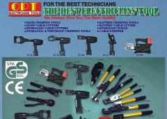 Hydraulic crimping tools OPT TOOLS