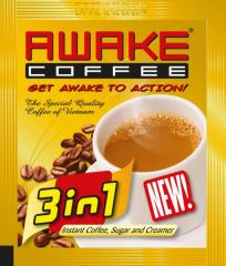 3 in 1 instant coffee, coffee drink