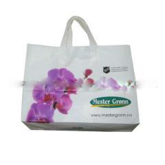 Flexiloop handle bag, soft loop handle bag, loop