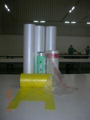 100% Virgin HDPE/LDPE Plastic Bag-Shirt