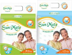 UNISEX SUNMATE Adult Diapers